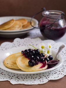 Free Pancakes Royalty Free Stock Photography - 20983977