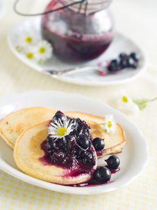 Free Pancakes Royalty Free Stock Image - 20983996