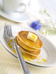 Free Pancakes Stock Images - 20984014