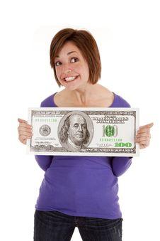 Free Holding Bid Dollar Stock Photos - 20984253