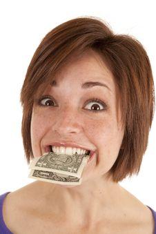 Free Holding Money Stock Photos - 20984393
