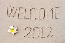 Free 2012 On The Beach Stock Images - 20984584