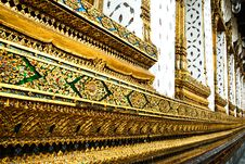 Free Side Of Buddhist Temple Stock Image - 20985761