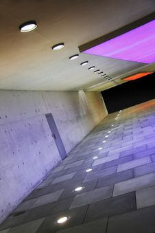Free Colored Corridor Royalty Free Stock Images - 20985779