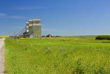 Free Mossleigh Grain Elevators Stock Photo - 20986420