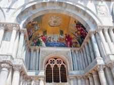 Gate Of San Marco Cathedral Basilica Stock Images