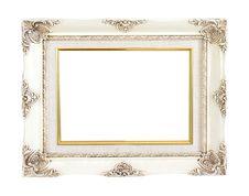 Free Vintage Frame Isolated Royalty Free Stock Image - 20987526