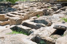 Free Antique Roman Tombs Stock Photography - 20987532