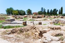 Free Ruins Of Antique Greek Temple Royalty Free Stock Images - 20987539