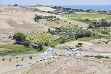 Free Traffic In Countryside In Sicily Stock Photo - 20987550
