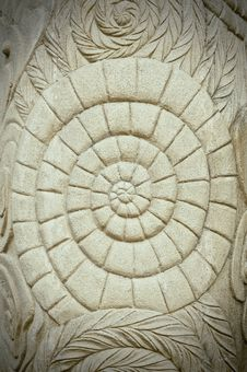 Free Grunge Ancient Style Stone Carving Stock Photos - 20987873