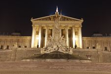 Free Austrian Parliament In Vienna Royalty Free Stock Photos - 20988098