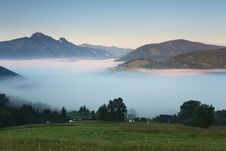 Free Mist In Mountain - Slovakia Royalty Free Stock Images - 20988389