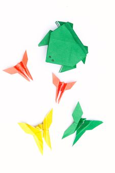 Free Origami Toys Stock Images - 20988594