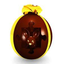 Free Chocolate Egg Royalty Free Stock Photos - 20988728