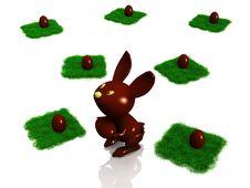 Chocolate Rabbit And Egg