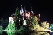 Haunted Castle - Bojnice. Royalty Free Stock Photography