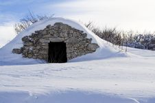 Free Detail Of Abruzzi Mountain Royalty Free Stock Images - 20989269