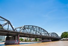 Free Big Iron Bridge Royalty Free Stock Photography - 20989337