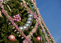 Free Christmas Tree With Colorful Decorations Stock Image - 20993231