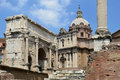 Free Forum Romanum In Rome - Italy Royalty Free Stock Image - 20994756