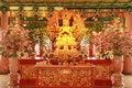 Free Golden Guan Yin Royalty Free Stock Photos - 20996528