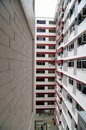 Free Facade Of A Low Cost Housing Multistorey Building Stock Images - 20998544