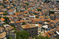 Free Life Of The Red Tile Roofs Of Sibenik Royalty Free Stock Image - 20998636