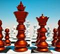 Free Chess Battle Royalty Free Stock Image - 20999566