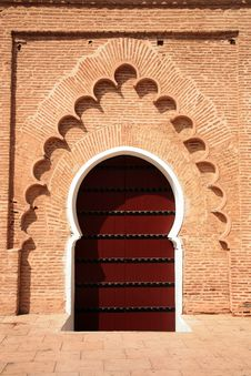Free Arabic Door In Koutubia Mosque Stock Photos - 20990283