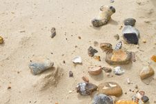 Free Sand And Pebbles Stock Photography - 20990412