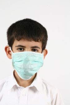 Free Little Boys And A Mask Royalty Free Stock Photography - 20990737