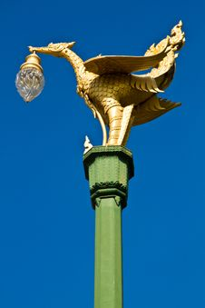 Free The Swan Lamp. Stock Images - 20990834