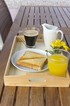 Free Breakfast Tray Stock Images - 20991104
