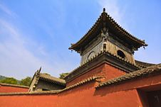 Free Roof Of The Temple Royalty Free Stock Photos - 20991278