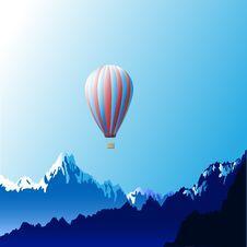 Free Hot Air Ballon Royalty Free Stock Images - 20991279