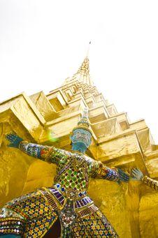 Free Giant Thai Stock Images - 20991544