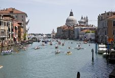 Free Buildings On The Big Canal In Venice Royalty Free Stock Photos - 20991558