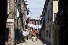 Free Street In Venice Stock Photos - 20991623