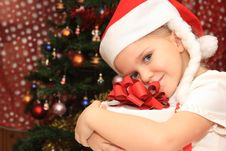 Free The Girl In Cristmas Royalty Free Stock Image - 20991956