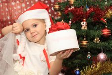 Free The Girl In Cristmas Royalty Free Stock Photo - 20992225