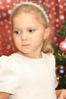 Free The Girl In Cristmas Royalty Free Stock Photography - 20992317