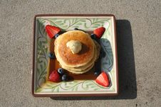 Free Pancakes Royalty Free Stock Photo - 20992745