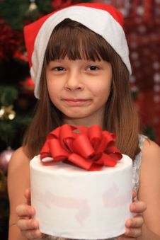 Free The Girl In Cristmas Stock Image - 20993131