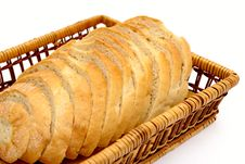 Free Bread In The Basket Stock Image - 20993201