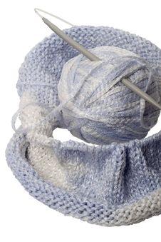 Free Knitting Baby Hat Royalty Free Stock Image - 20993246
