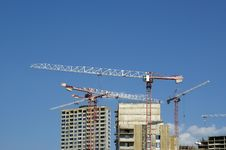 Free Building Crane Royalty Free Stock Images - 20993289