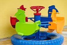 Free Children S Roundabout Royalty Free Stock Photos - 20993448