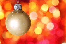 Free Christmas Tree Decoration Stock Photos - 20993573