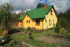 Green Roof Stock Photos